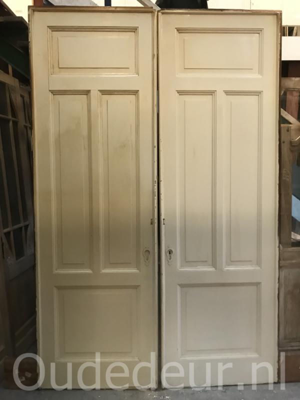 nr. e212 set hoge ensuite deuren