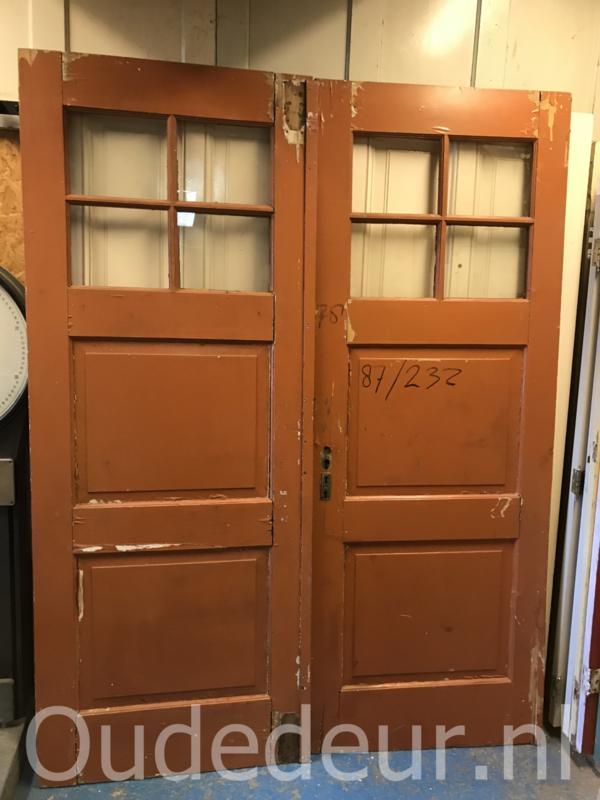 nr. set627 set oude grenen deuren