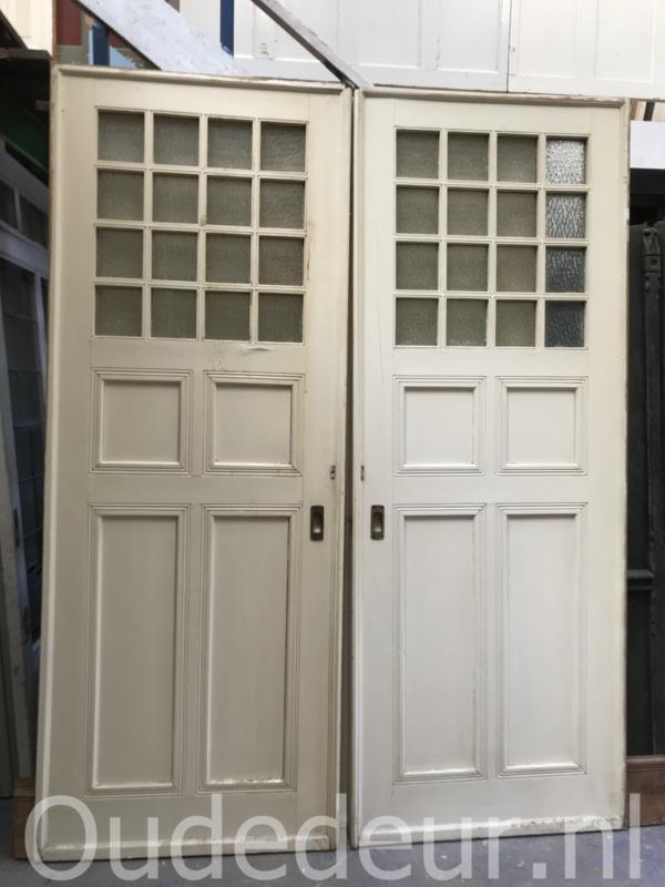 nr. e283 stel grote oude ensuite deuren