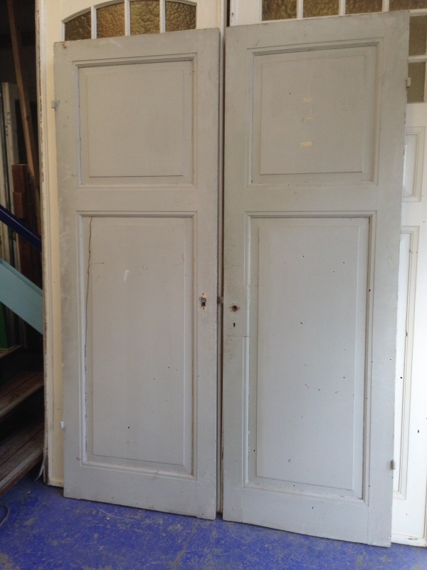 nr. 1036 antieke tweevaks deuren