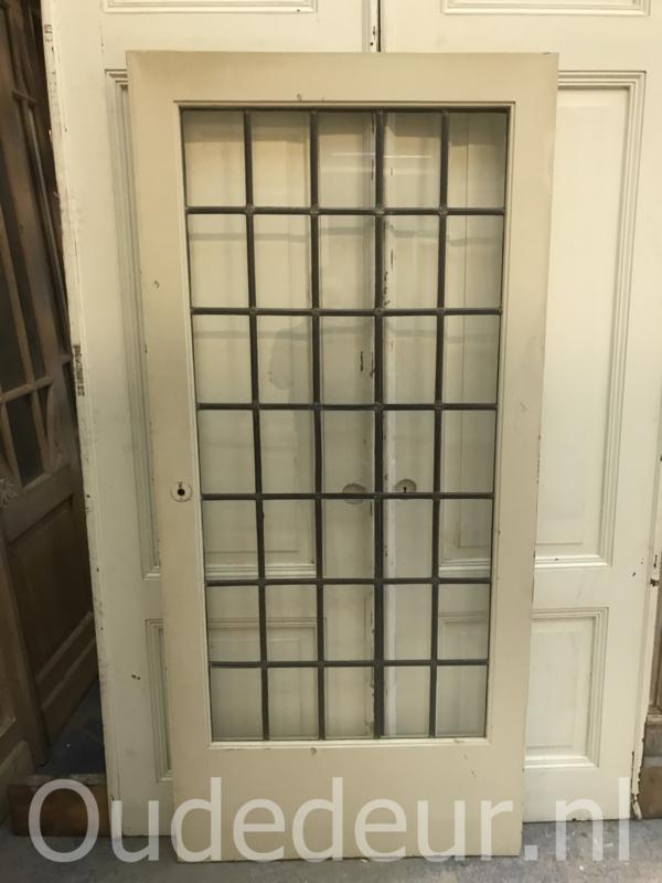 nr. gl346 glas in lood deur