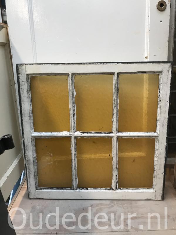 nr. r201 drie gelijke oude ramen
