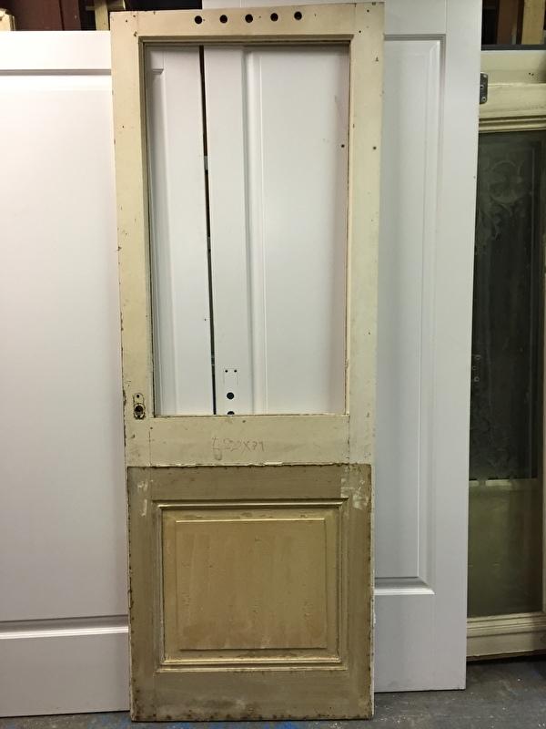 nr. 2122 oude glasdeur zonder glas