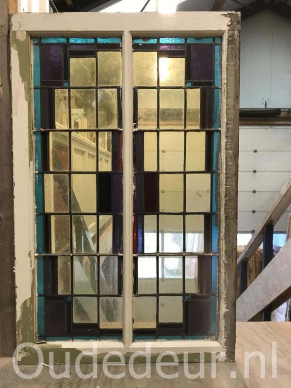 nr. GL434 gls in lood raam