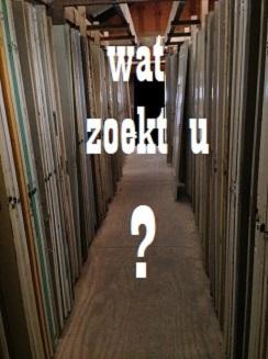 Ik zoek een deur.