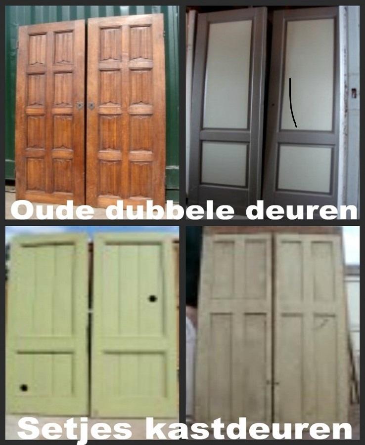 setjes deuren, kastdeuren