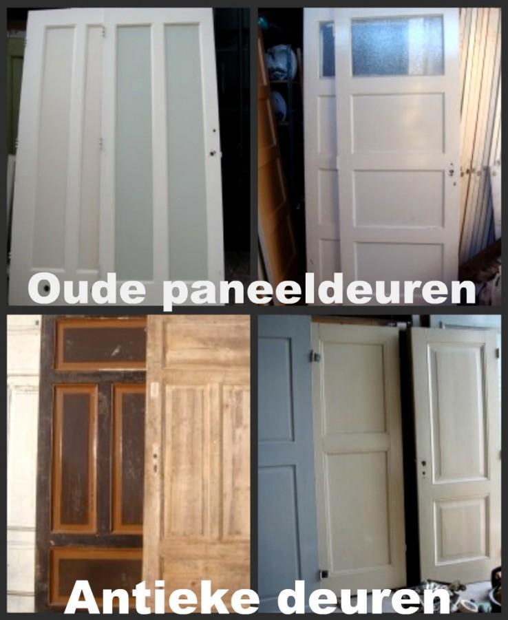 oude paneeldeuren, antieke deuren