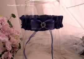 Kouseband  PR-7  Paars met lila strikje  NIEUW !!