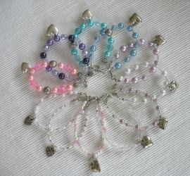 Armbandjes voor bruidsmeisjes /  H.communie/ cadeautje