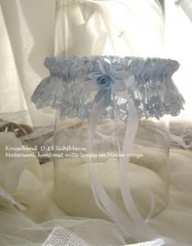 Kouseband  D-15      Lichtblauw