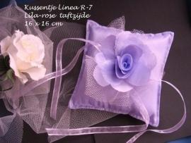 Ringkussen Lin-  7    lila  NIEUW!!