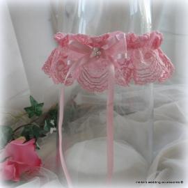 Kouseband  E-29  zuurstok-roze