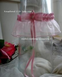 Kouseband E 26 Baby-roze