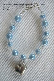 Armbandje voor bruidsmeisje  M-brm-6 Blauw