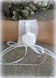 Polscorsage BR-1 ivoor  voor bruid  (u-2)