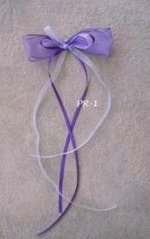antennestrikjes  paars - lila