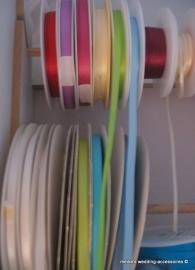 Satijnlintjes 6 mm in diverse kleuren