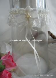 Kouseband MXL - 11  champagne