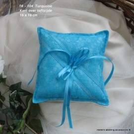 Ringkussen 16-104  turquoise      (u-3)