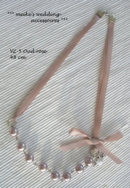 Ketting  VZ-5  Oud-roze