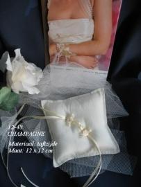 12-48  Champagne  met roosjes  NIEUW !!   (u-2)