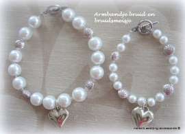 Bruidsmeisjes armbandje M-Br.m-11 passend bij M-BR-1  (u-5)