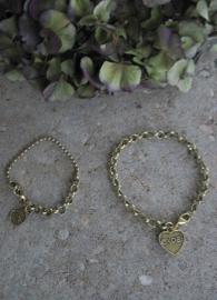 Basis armbandjes  - goudkleurig