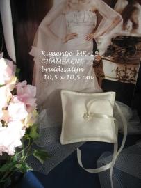 Ringkussen MK-15  champagne   maat 10/10, 12/12 of 13/13 cm  NIEUW !!   (u-2)