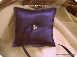 Ringkussen MA-10  paars 1   (blauw-paars)NIEUW !!   (u-3)
