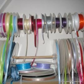 Satijn lintjes 3 mm in diverse kleuren