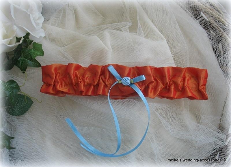 Kousenband OR-7  fel oranje