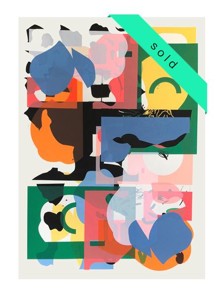 Double Size Monoprint  19/11.1