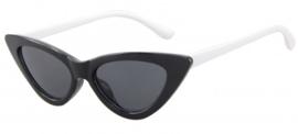 Zwart witte zonnebril
