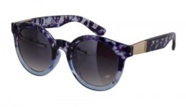 Blauw/paarse zonnebril