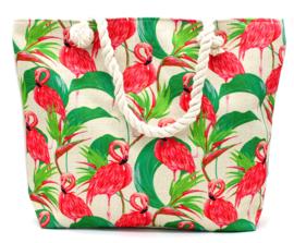 Flamingo strandtas