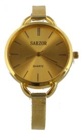 Goude horloge van het merk sarzor
