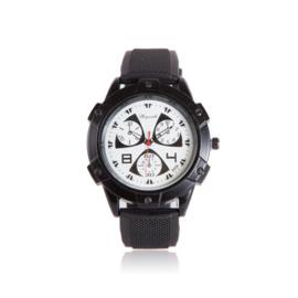 Zwart/witte horloge