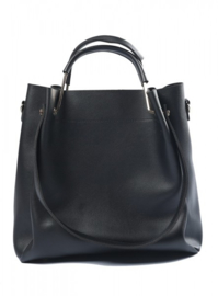 Zwarte handtas van het merk brakelenzo