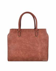 Camel kleurige handtas van het merk giuliano