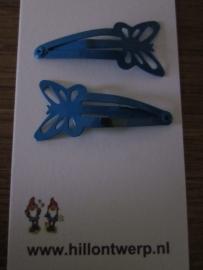 Blauwe vlinderknipjes