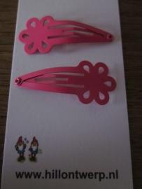 Roze bloemknipjes