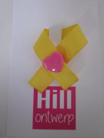 geel lintje met harte drukker