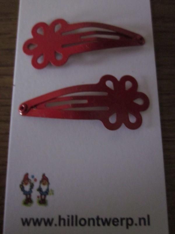 Rode bloemknipjes