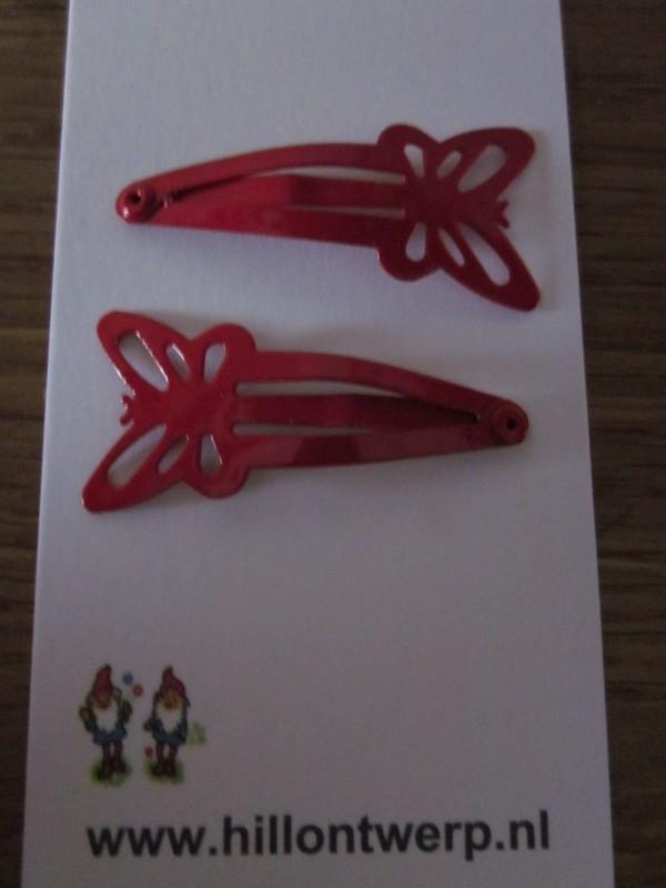 Rode vlinderknipjes