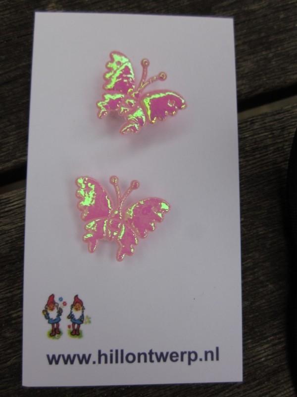 Roze vlindertje