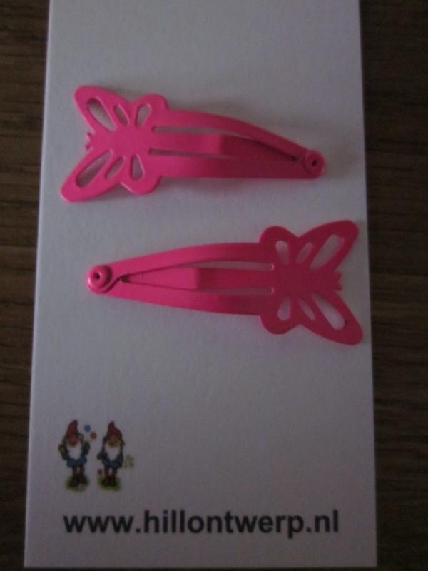 Roze vlinderknipjes