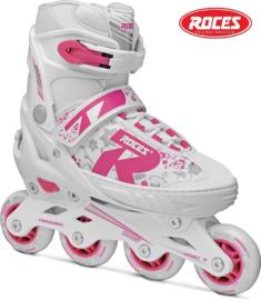 """Inline skates """"Jokey 2.0"""" wit/roze"""
