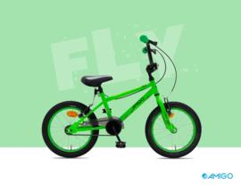 """Crossfiets 16"""" Amigo """"Fly"""" green"""
