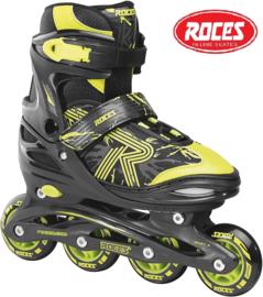 """Inline skates """"Jokey 3.0"""" zwart/geel"""