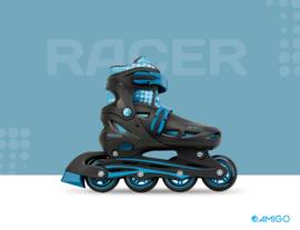 """Inline skates """"Racer"""" zwart/blauw"""